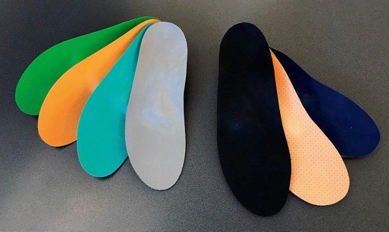 Orthopädische Schuh-Einlagen