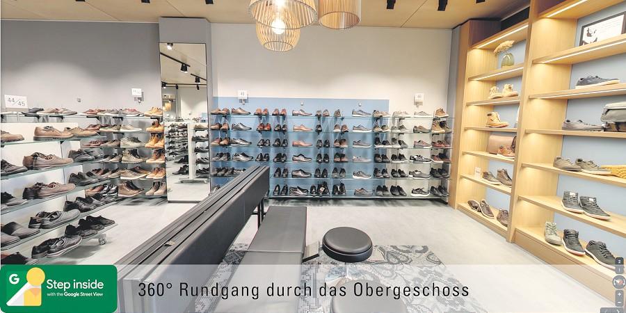 Schuhgeschäft in Lauchringen bei Waldshut-Tiengen